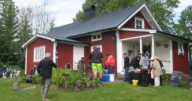 """ETT STORT TACK! säger vi till Sten-Åke & Eivor Berg som upplät och gav oss denna idylliska plats att avsluta årets """"Kultur på väg"""""""