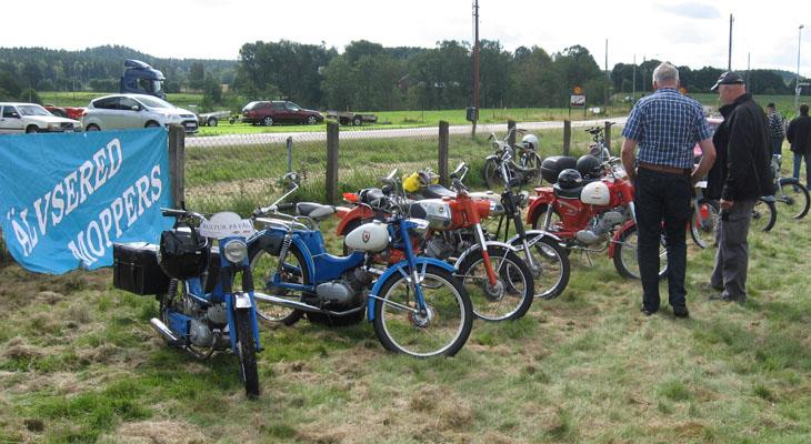 Älvsereds moppers är ett trevligt samarbete och som ser till att antalet mopeder ökar denna dag.