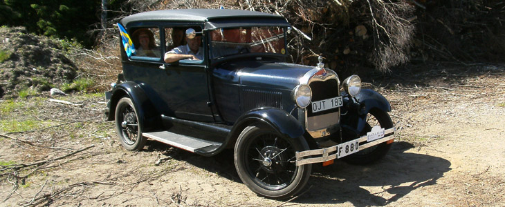 6-juni-gammelbil