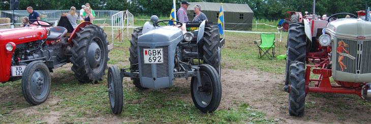 Å lite traktorer var vi ju tvungna att se också så vi inte får abstinensbesvär...hihi