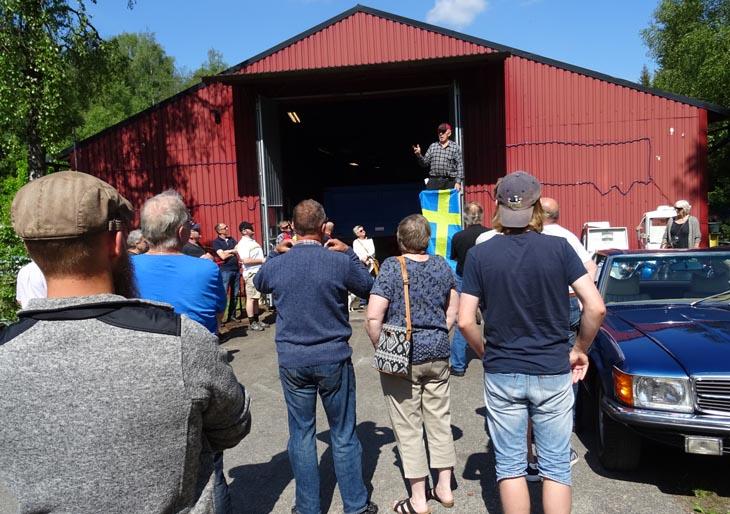 Billy Hedström berättar om Åkeriet och anekdoter från hans arbetsliv