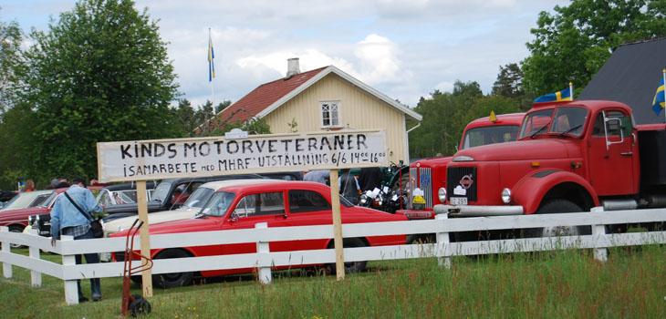 Att nästan ha kört runt Holsjön i Holsljunga så samlades alla i Fäxhult för grillning och mingel samt för allmän beskådning.