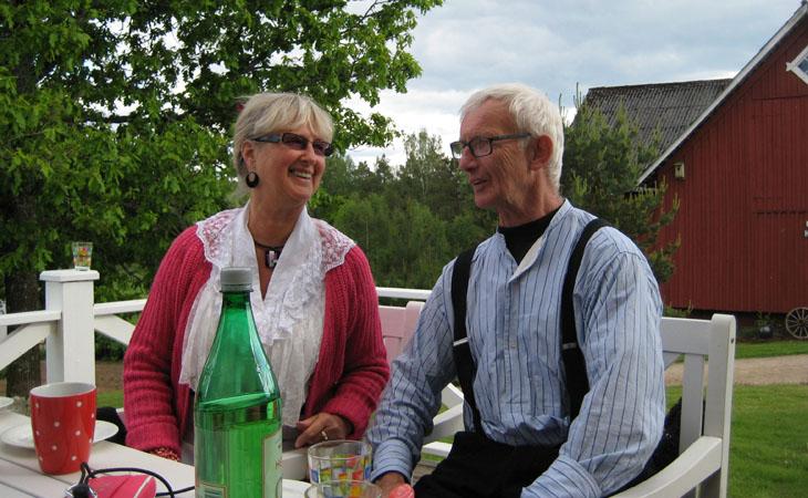 Ett STORT TACK till värdparet Ulf & Inger Andersson att vi fick vara på er gård i Fäxhult och ert engagemang!!!