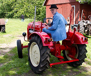 Åke Johansson är redo till att köra igång årets midsommarrally!